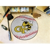 "FANMATS Georgia Tech Baseball Mat 27"" diameter"