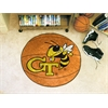 "FANMATS Georgia Tech Basketball Mat 27"" diameter"