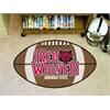 "FANMATS Arkansas State Football Rug 20.5""x32.5"""