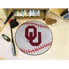 "FANMATS Oklahoma Baseball Mat 27"" diameter"