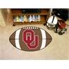 """FANMATS Oklahoma Football Rug 20.5""""x32.5"""""""