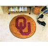 "FANMATS Oklahoma Basketball Mat 27"" diameter"