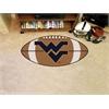 "FANMATS West Virginia Football Rug 20.5""x32.5"""