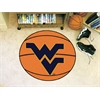 "FANMATS West Virginia Basketball Mat 27"" diameter"