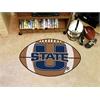 "FANMATS Utah State Football Rug 20.5""x32.5"""