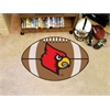 "FANMATS Louisville Football Rug 20.5""x32.5"""