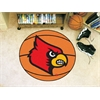 "FANMATS Louisville Basketball Mat 27"" diameter"