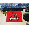 """FANMATS Louisville Starter Rug 19""""x30"""""""