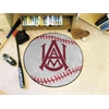"FANMATS Alabama A&M Baseball Mat 27"" diameter"