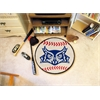"FANMATS Rice Baseball Mat 27"" diameter"