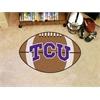 "FANMATS TCU Football Rug 20.5""x32.5"""