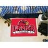 "FANMATS Lamar Starter Rug 19""x30"""