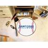 """FANMATS St. Louis Baseball Mat 27"""" diameter"""