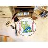 "FANMATS Delaware Baseball Mat 27"" diameter"