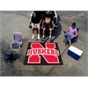 FANMATS Nebraska Tailgater Rug 5'x6'