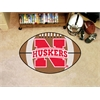 "FANMATS Nebraska Football Rug 20.5""x32.5"""