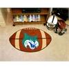 "FANMATS GCSU Univ Football Rug 20.5""x32.5"""