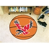 "FANMATS Eastern Washington Basketball Mat 27"" diameter"