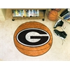 "FANMATS Georgia Basketball Mat 27"" diameter"