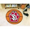 "FANMATS South Dakota Basketball Mat 27"" diameter"
