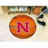 """FANMATS Nicholls State Basketball Mat 27"""" diameter"""