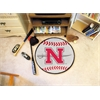 "FANMATS Nicholls State Baseball Mat 27"" diameter"