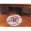 "FANMATS Utah Baseball Mat 27"" diameter"