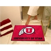 "FANMATS Utah All-Star Mat 33.75""x42.5"""