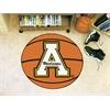 "FANMATS Appalachian State Basketball Mat 27"" diameter"