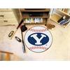 """FANMATS BYU Baseball Mat 27"""" diameter"""