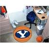 """FANMATS BYU Basketball Mat 27"""" diameter"""