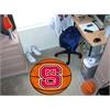 """FANMATS NC State Basketball Mat 27"""" diameter"""