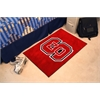 "FANMATS NC State Starter Rug 19""x30"""