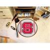 "FANMATS NC State Baseball Mat 27"" diameter"