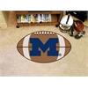 "FANMATS Michigan Football Rug 20.5""x32.5"""
