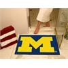 "FANMATS Michigan All-Star Mat 33.75""x42.5"""