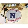 """FANMATS US Naval Academy Baseball Mat 27"""" diameter"""