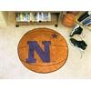 """FANMATS US Naval Academy Basketball Mat 27"""" diameter"""