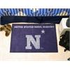 "FANMATS US Naval Academy Starter Rug 19""x30"""