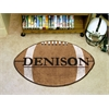 "FANMATS Denison Football Rug 20.5""x32.5"""
