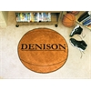 "FANMATS Denison Basketball Mat 27"" diameter"