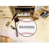 "FANMATS Denison Baseball Mat 27"" diameter"