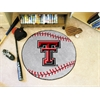 "FANMATS Texas Tech Baseball Mat 27"" diameter"