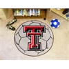 FANMATS Texas Tech Soccer Ball