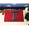 """FANMATS Texas Tech Starter Rug 19""""x30"""""""