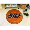 """FANMATS Southern Illinois Basketball Mat 27"""" diameter"""