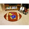 "FANMATS Kansas Football Rug 20.5""x32.5"""