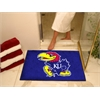 "FANMATS Kansas All-Star Mat 33.75""x42.5"""