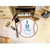 "FANMATS The Citadel Baseball Mat 27"" diameter"