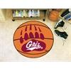 """FANMATS Montana Basketball Mat 27"""" diameter"""
